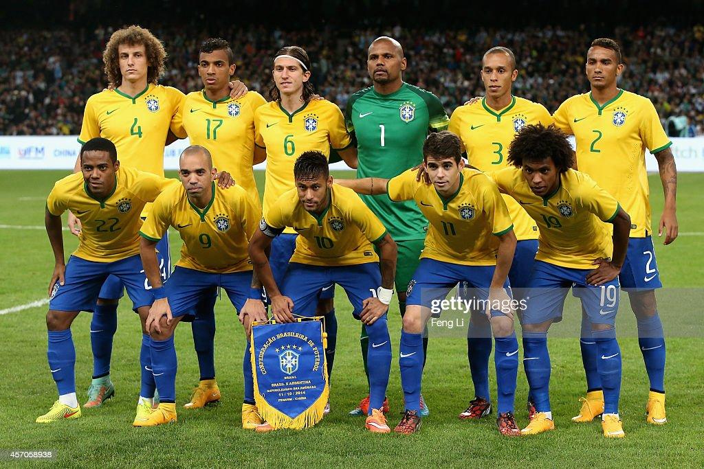 Brazil v Argentina - Superclasico de las Americas : News Photo