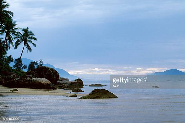 Brazil View of Angra Dos Reis Bay In The Early Morning