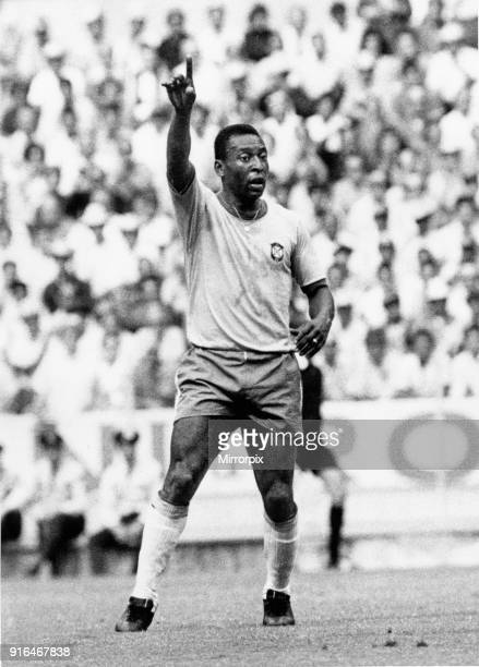 Brazil vs Czechoslovakia 1970 World Cup Group C Pele in Action 3rd June 1970