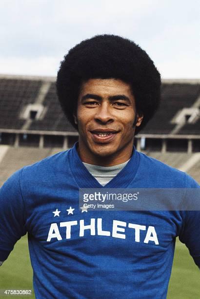 Brazil winger Jairzinho pictured circa 1973