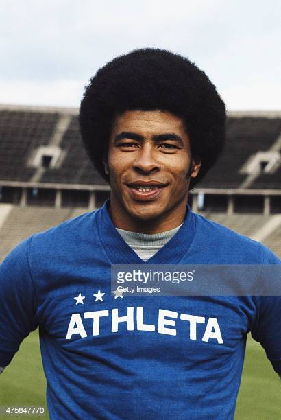 Brazil winger Jairzinho pictured circa 1973