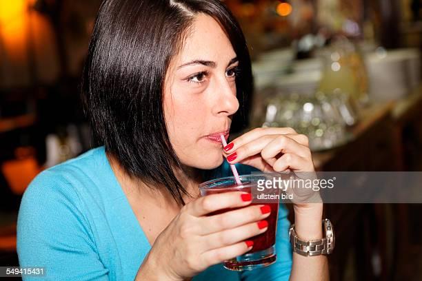 woman in a Feijoada restaurant