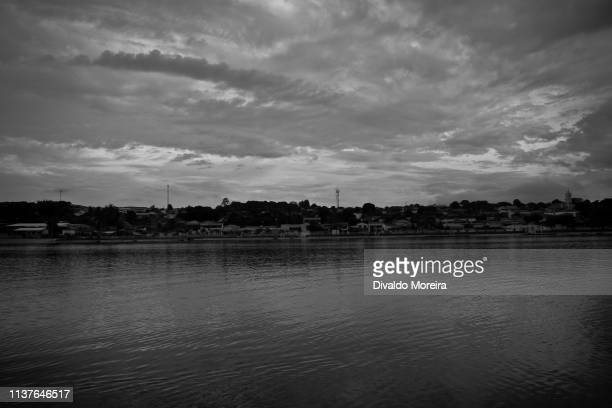brazil - workers - fisherman - fishing in rio grande - divaldo moreira stock photos and pictures