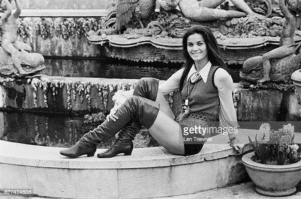 Brazilian actress Florinda Bolkan 3rd April 1971
