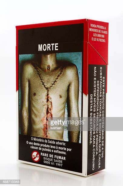 brazilian against smoking law - emphysema stock photos and pictures