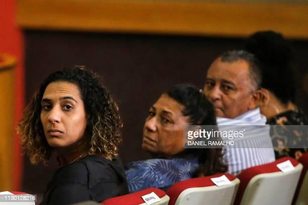 Brazilian Anielle Franco Antonio Franco Marinete da Silva sister and parents of late Rio de Janeiro's councilwoman and activist Marielle Franco...