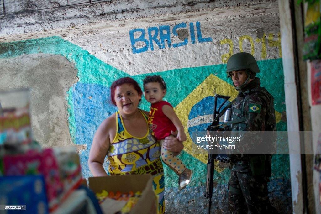 BRAZIL-VIOLENCE-ROCINHA-SECURITY : Photo d'actualité