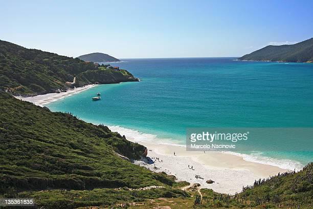 brazilian beach, arraial do cabo - arraial do cabo imagens e fotografias de stock