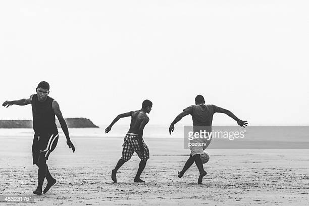 Brazilian beach football.