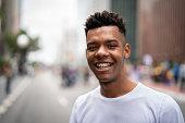 Brazilian Boy Smiling