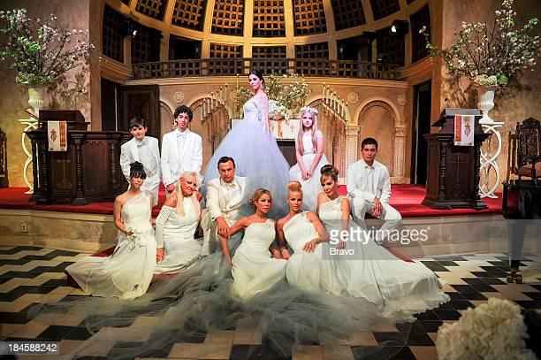 MIAMI 'Brazilian Bridezilla' Episode 310 Pictured Wedding Party Son Alex Adriana De Moura Lisa Hochstein Alexia Echevarria Marysol Patton