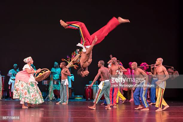 Brazilian dancers from the Bale Folclorico da Bahia perform 'Sacred Heritage' at 'DanceAfrica 2015: Brazilian Rhythms, African Roots' at the BAM...