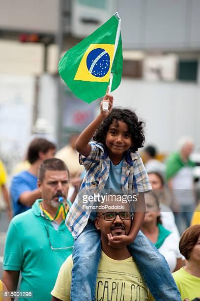 Manifestantes do Brasil