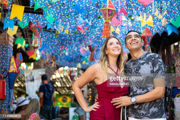 brazilian festa junina - month stock pictures, royalty-free photos & images
