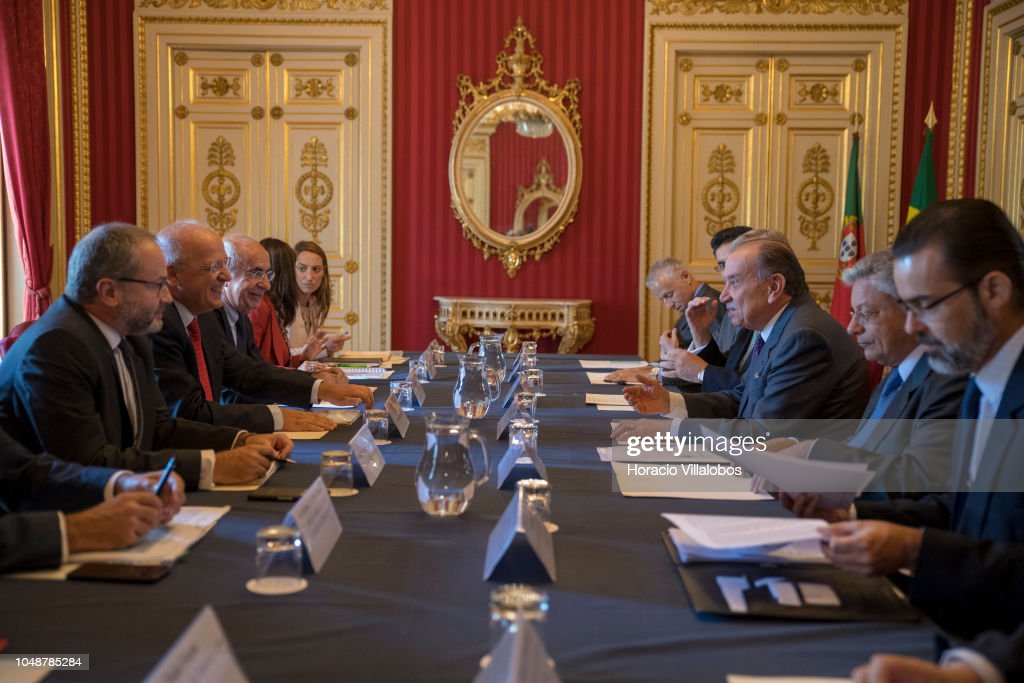 Brazilian Foreign Minister Aloysio Nunes In Lisbon : Fotografia de notícias