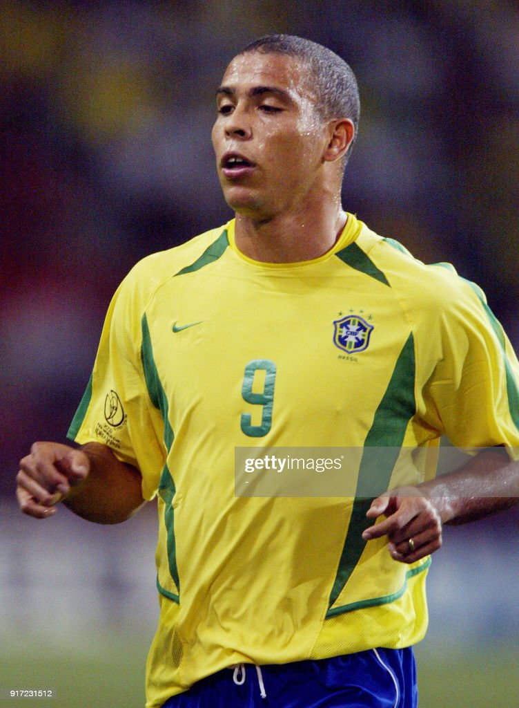 a34d500fd Brazilian forward Ronaldo runs on the pitch during the second round ...