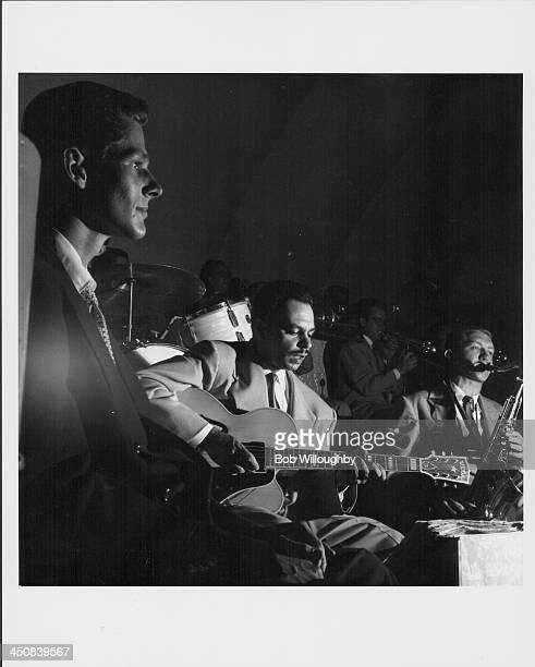 Brazilian guitarist Laurindo Almeida on stage circa 19501960