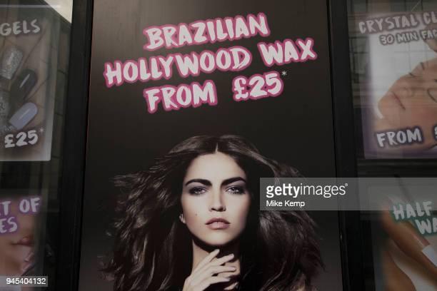 Brazilian Hollywood Waxing salon in London England United Kingdom
