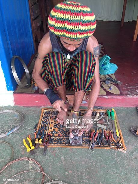 Brazilian jewelry artist Abadiania GO