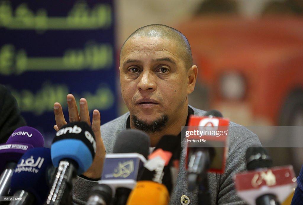Roberto Carlos Soccer Camp in Amman