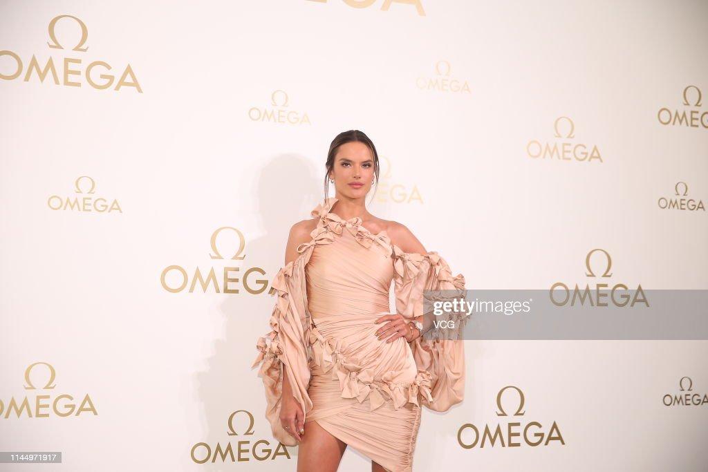 TWN: Alessandra Ambrosio Attends Omega Event In Taipei