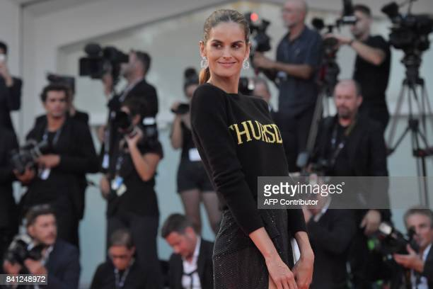 Brazilian model Izabel Goulart arrives at the premiere of the movie 'The Shape of Water' presented in competition 'Venezia 74' at the 74th Venice...