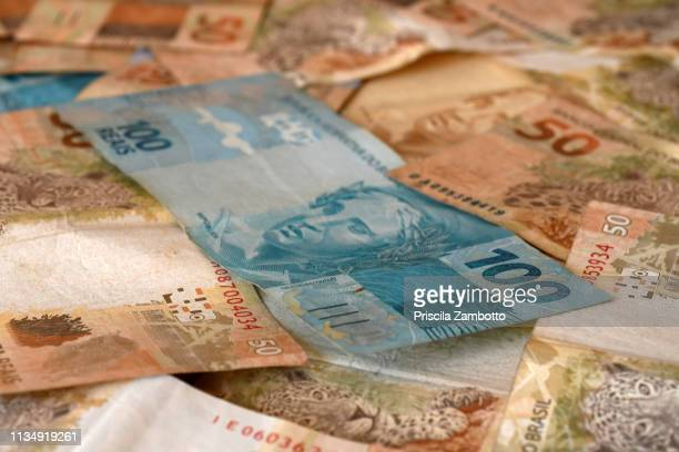 brazilian money - monetary policy stock pictures, royalty-free photos & images