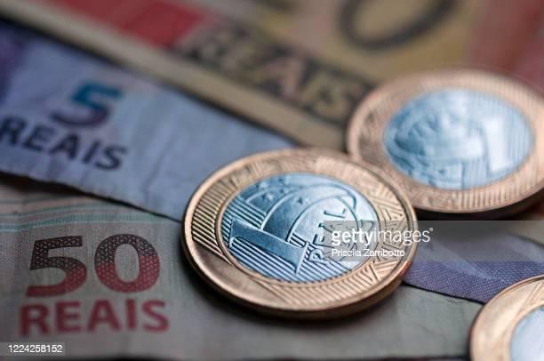 brazilian money - reform stock-fotos und bilder
