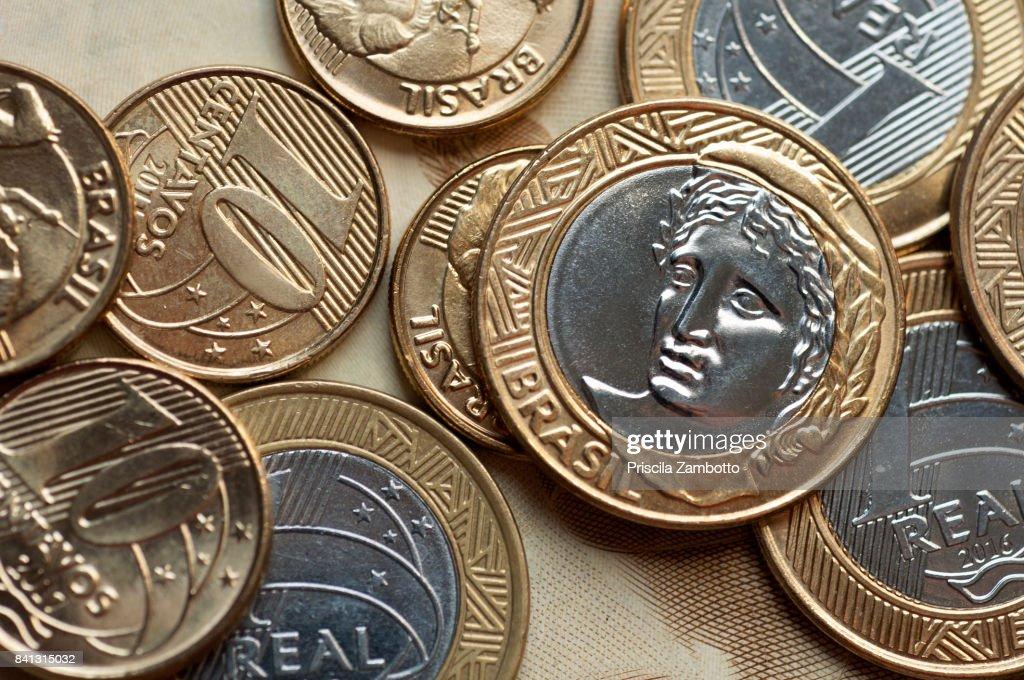 Brazilian Money : Stock Photo