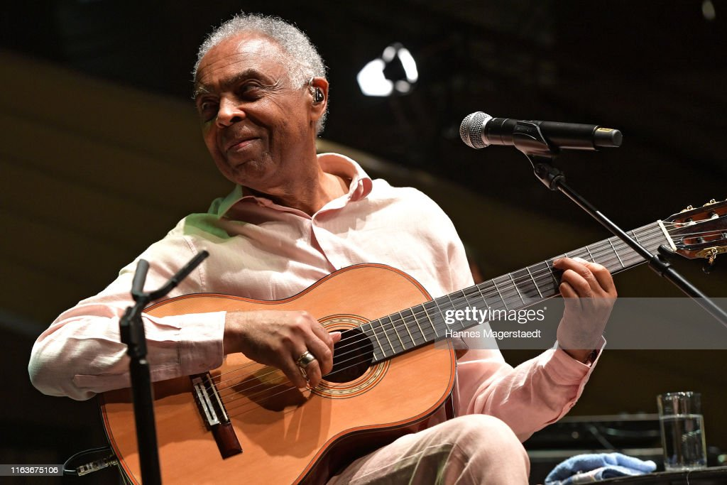 Brazilian multi-instrumentalist and singer/songwriter Gilberto Gil