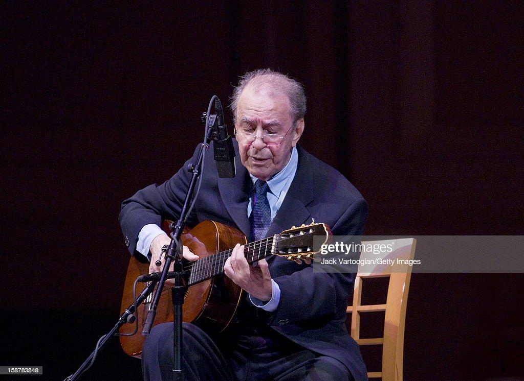 Joao Gilberto At JVC Jazz Festival : News Photo