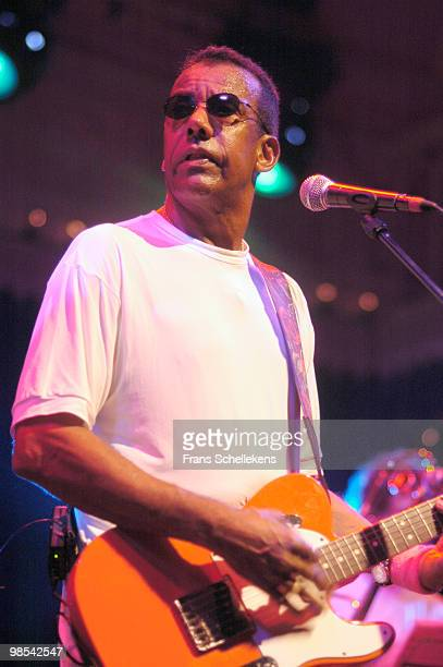 Brazilian musician Jorge Ben performs live on stage at Paradiso in Amsterdam, Netherlands on July 27 2005