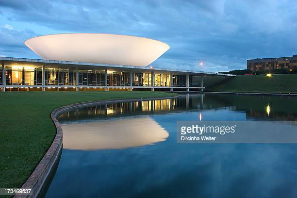 Brazilian National Congress . The National Congress, a political institution which exercises the legislative branch, was designed by architect Oscar...