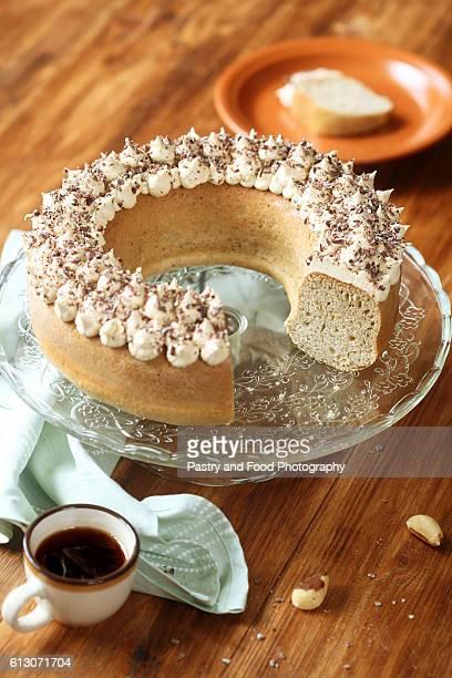 brazilian nut cake - brazil nut - fotografias e filmes do acervo