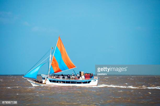 brazilian passenger boat, sao luis - sao luis stock pictures, royalty-free photos & images