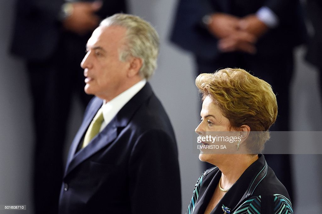 BRAZIL-ROUSSEFF-TEMER : News Photo