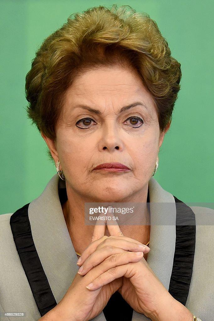 BRAZIL-ROUSSEFF-CRISIS : News Photo