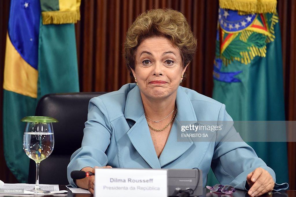 BRAZIL-HEALTH-ROUSSEFF-ZIKA VIRUS : News Photo