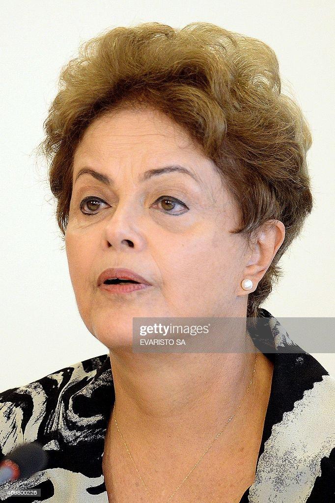 BRAZIL-POLITICS-ROUSSEFF : News Photo