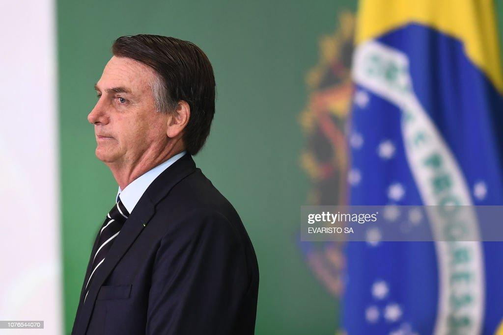 BRAZIL-CABINET-BOLSONARO : News Photo