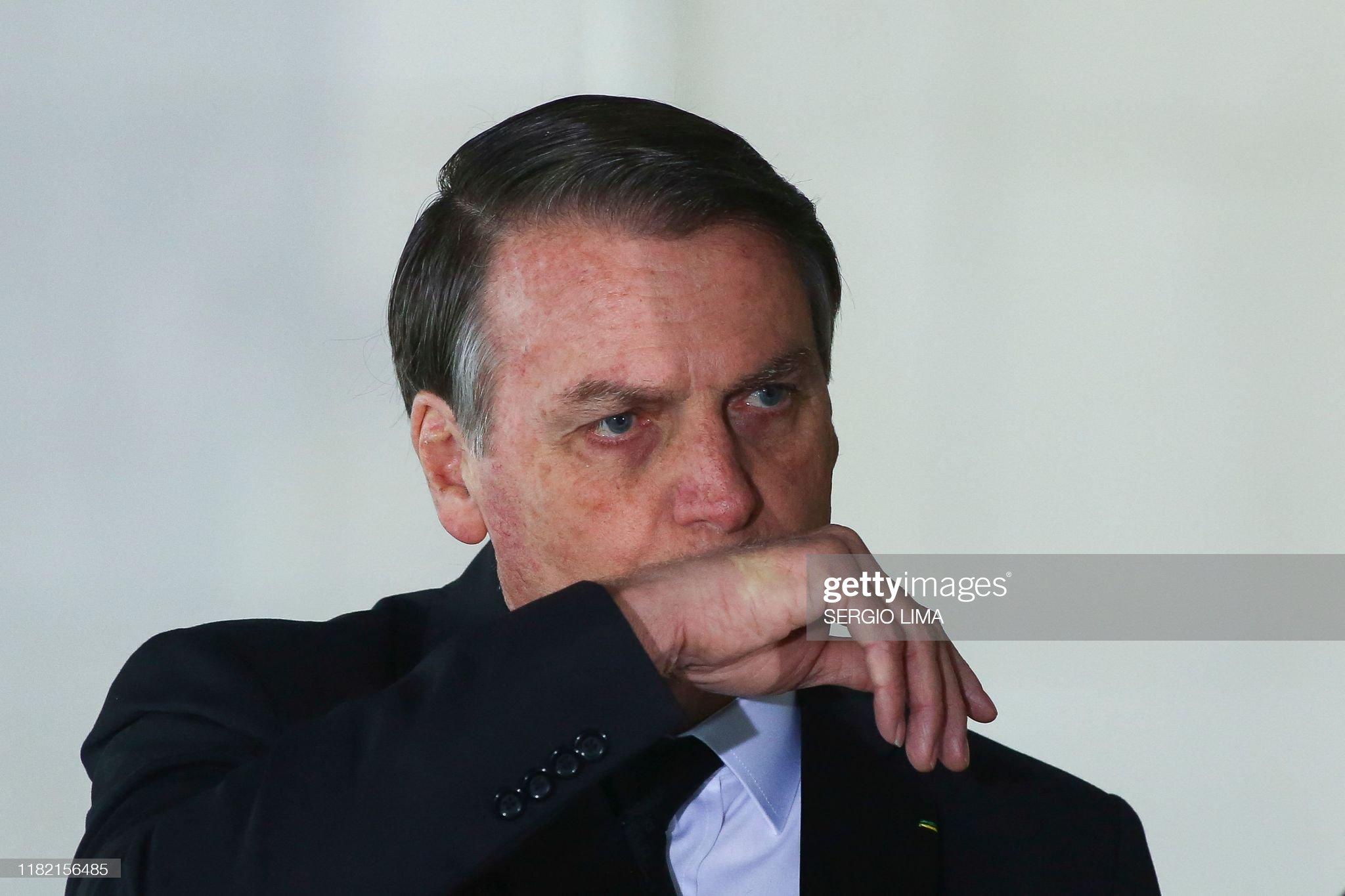 BRAZIL-BRICS-CHINA-BOLSONARO-XI : Fotografia de notícias