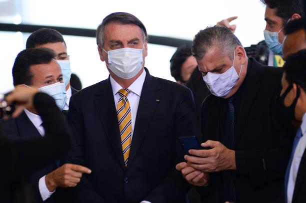 BRA: Bolsonaro Attends Borders Protection Forum