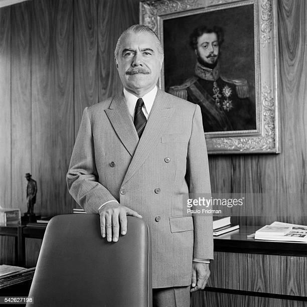 Brazilian President Jose Sarney