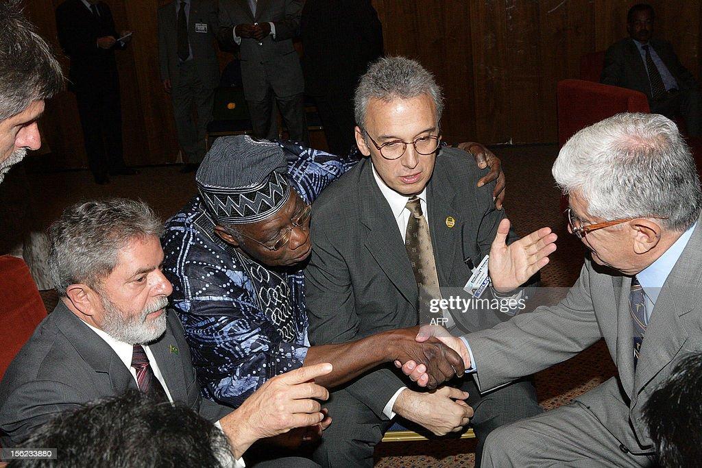 NIGERIA-LIBYA-SOUTH AFRICA ALGERIA-SUMMIT : News Photo