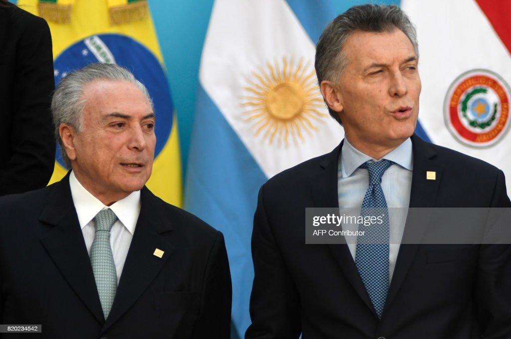 ARGENTINA-MERCOSUR-SUMMIT : News Photo
