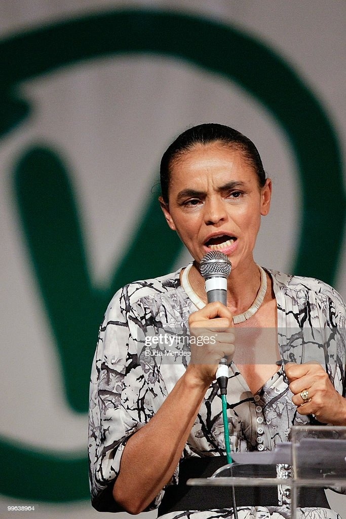 Pre-Candidate Marina Silva Launches Campaign For 2010 Elections