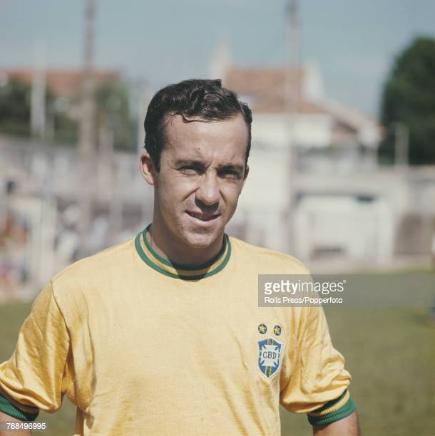 Brazilian professional footballer and forward with the Brazil national football team Tostao posed in 1970 Tostao would go on to play for the...