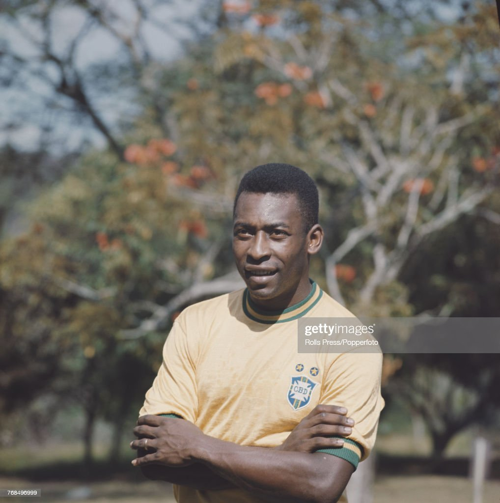 Pele Of Brazil : News Photo