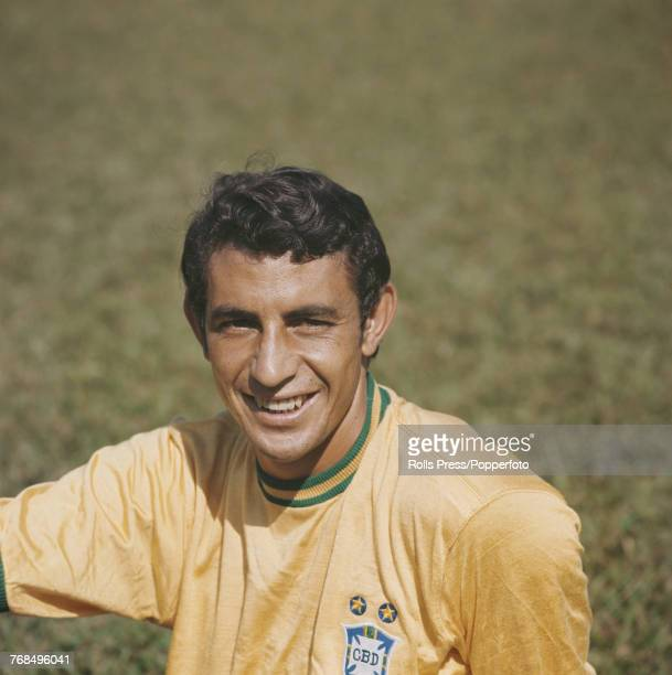 Brazilian professional footballer and midfielder with the Brazil national football team Wilson da Silva Piazza posed in 1970 Piazza would go on to...