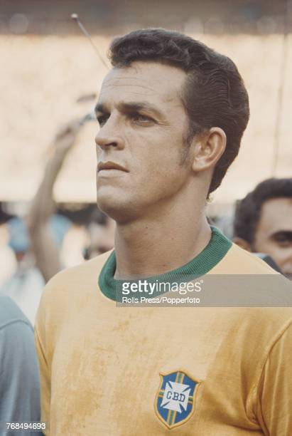 Brazilian professional footballer Cruzeiro player and defender with the Brazil national football team Jose de Anchieta Fontana pictured on the pitch...